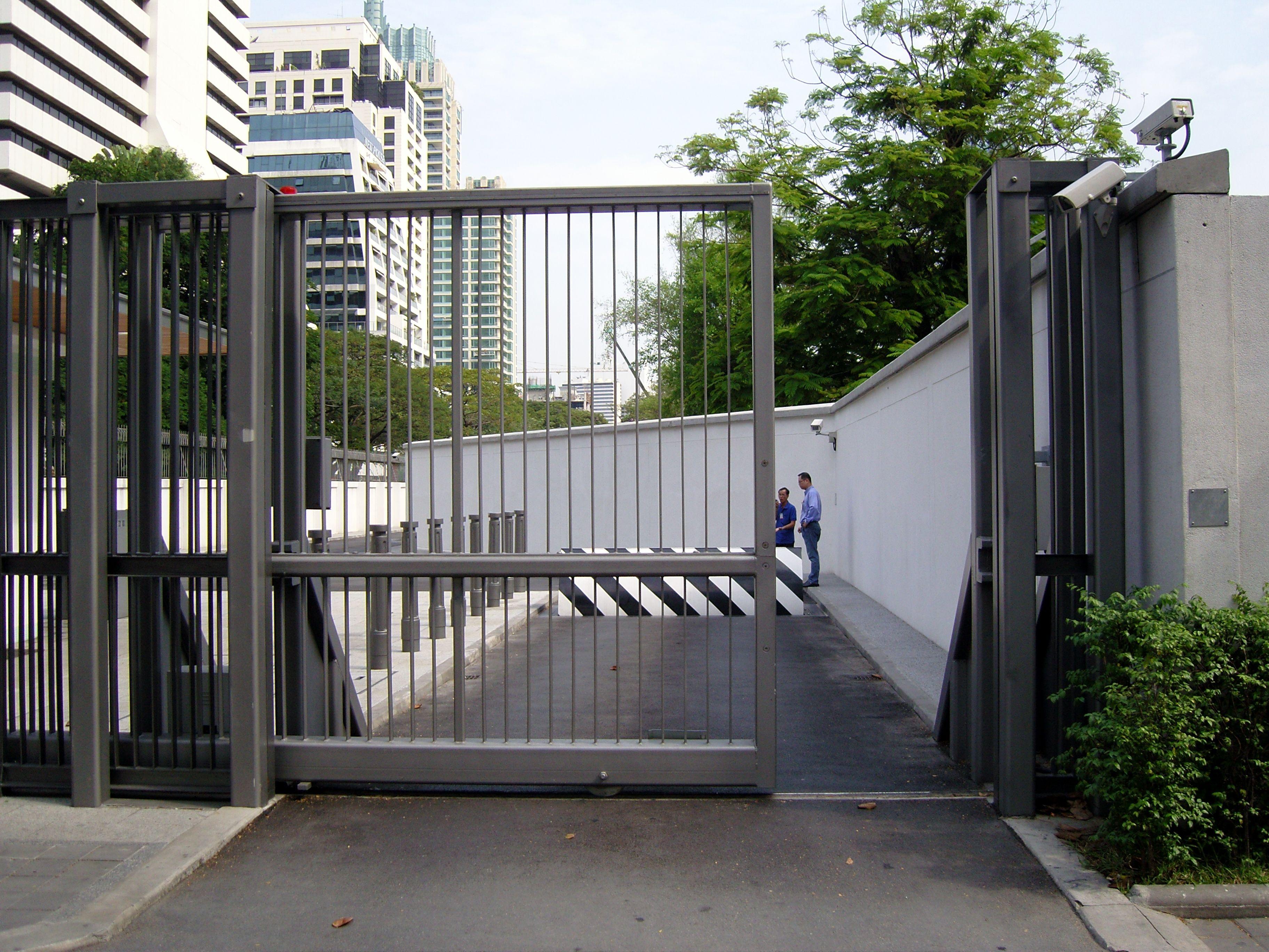 High Impact High Security Sliding Gates Sliding Gate Security Fence Gate