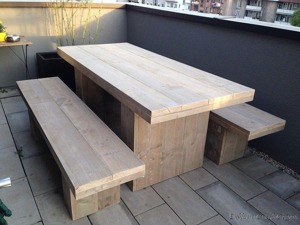 Gartentisch Eberswalde Bauholz Mobel Diy Gartenmobel Bauen Mit Holz