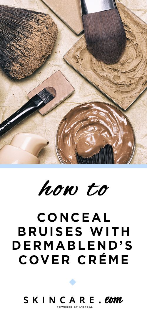 How to Conceal Bruises in 2019 beauty Bruises makeup