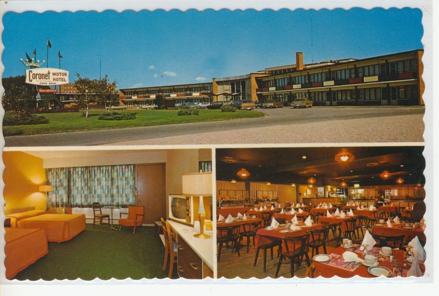 The coronet motor hotel victoria street kitchener for Ontario motor inn ontario ca