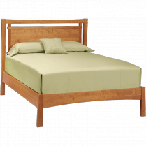 Monterey Natural Cherry Wooden Headboard Bed - An eco-friendly contemporary bed from the Monterey Collection