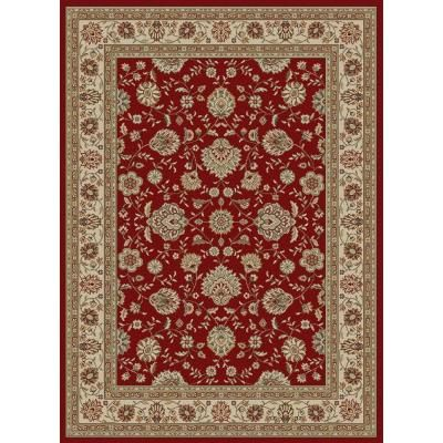 Tayse Rugs Elegance Red 5 Ft X 7 Ft Traditional Area Rug Elg5140