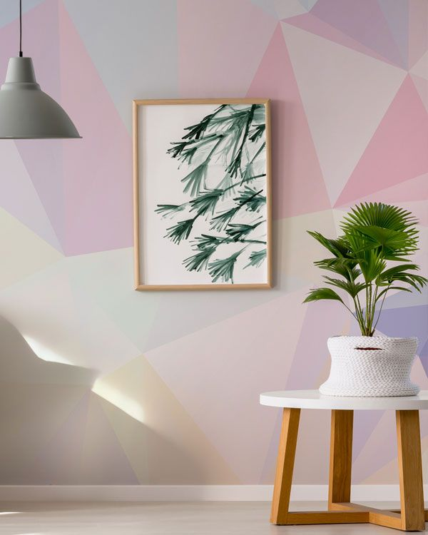 Grungy Pastel Paint Accent Wall: Create A Beautiful Accent Wall With One Of Our NEW Pastel