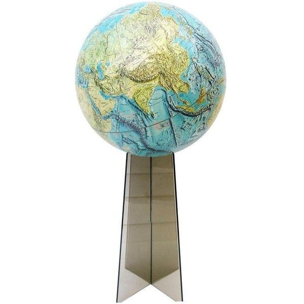 Attrayant Large Replogle World Globe And Lucite Stand ($295) ❤ Liked On Polyvore  Featuring Home