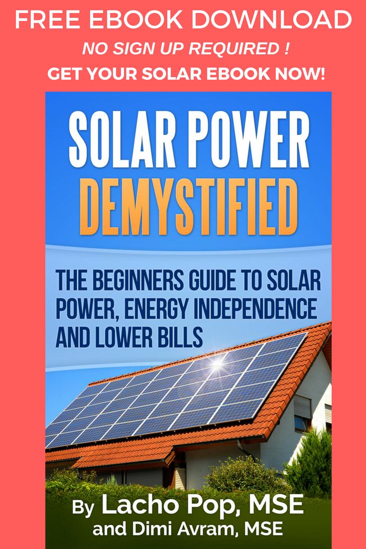 Solar Power Demystified Free Book Solar Panel Secrets Exposed Solar Solar Power Energy Solar Panels