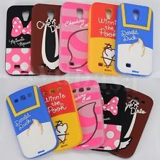 3D Disney Cartoon Soft Silicone Case Cover For Samsung Galaxy S3 S4 Mobile Phone
