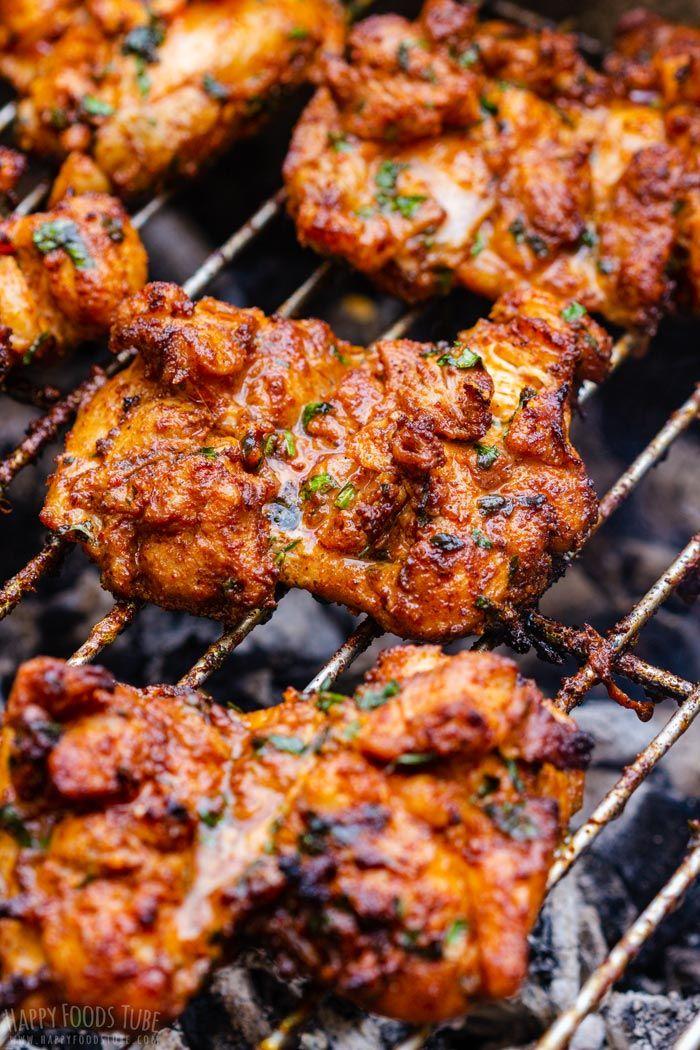 Grilled Boneless Chicken Thighs #grilledchickenparmesan