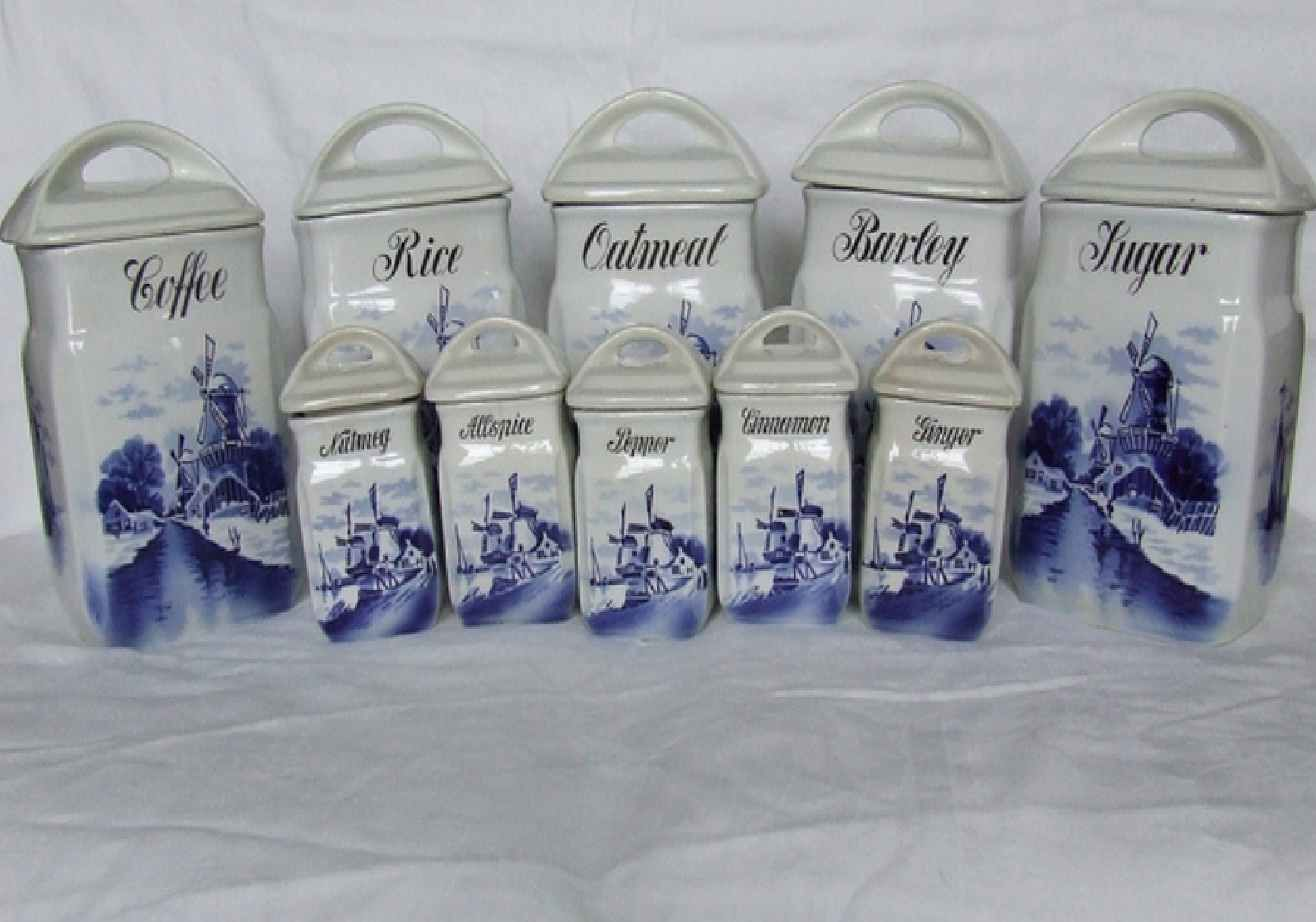 beautiful pottery kitchen canisters this is the canister set iv beautiful pottery kitchen canisters this is the canister set iv been looking for absolutely
