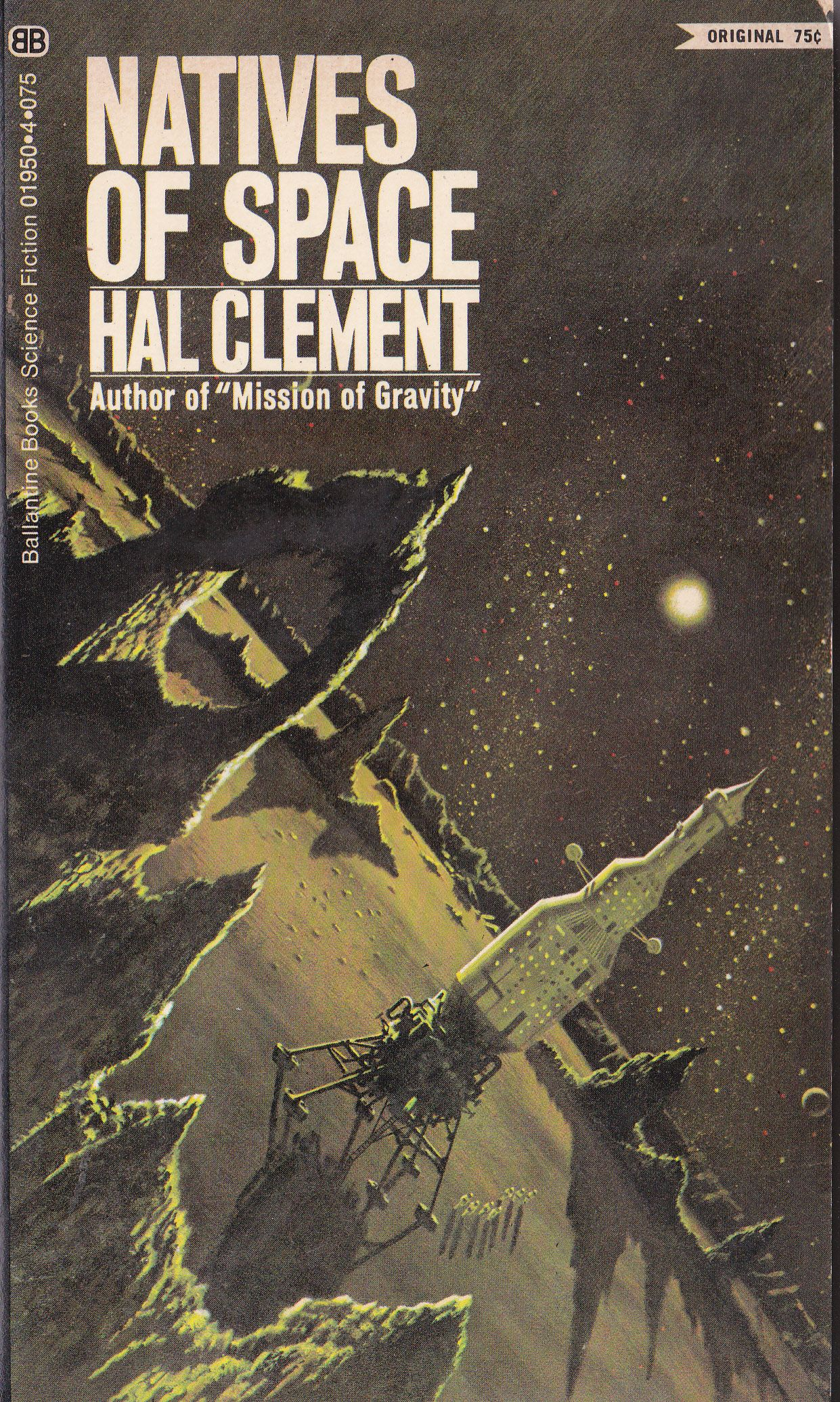 Clasicos Ciencia Ficcion Libros Hal Clement Natives Of Space Sci Fi Books Covers