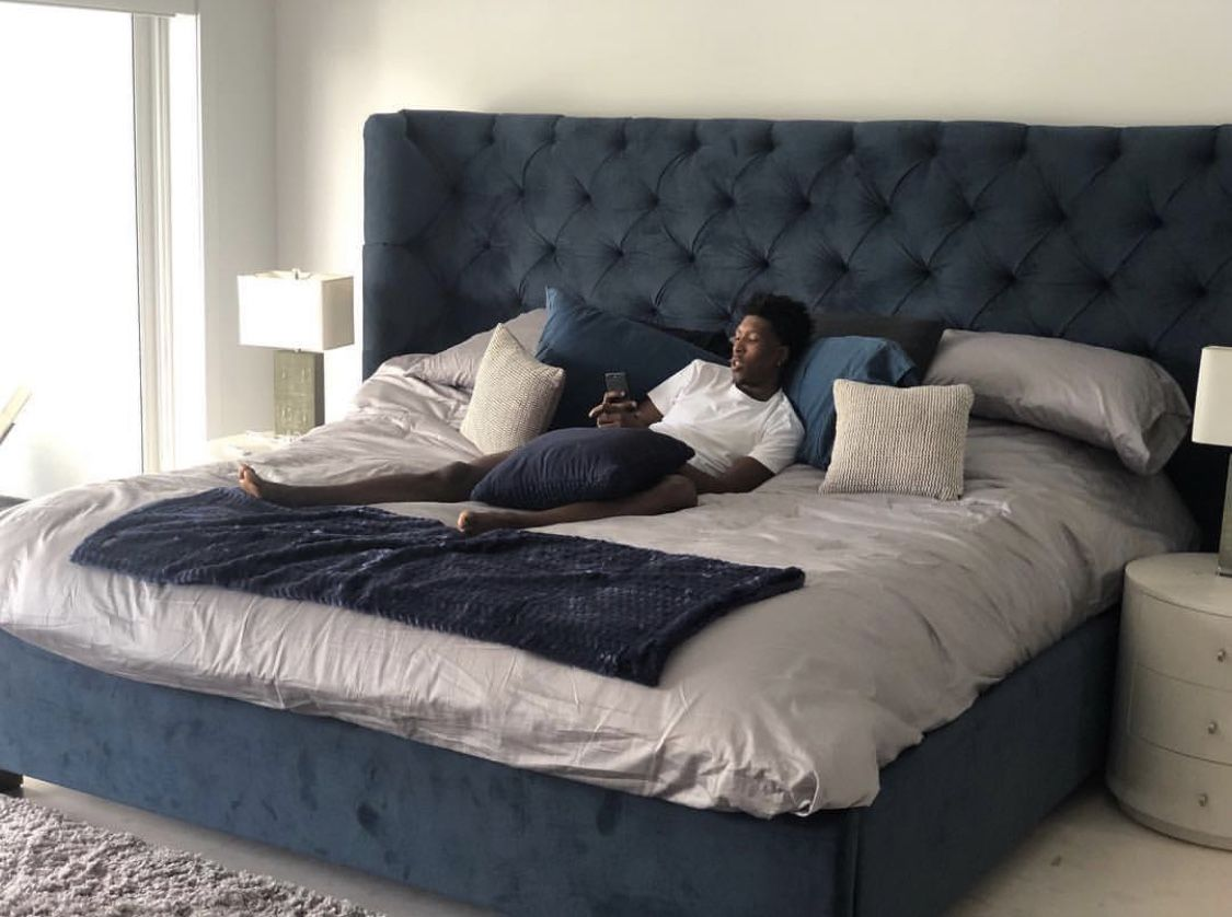 Unveiling The Maree Luxe We Installed For Josh Richardson Of The Miami Heat Celebrity Bedrooms Dreams Beds Big Beds