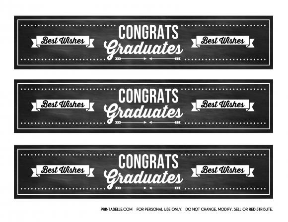 Download These Free Graduation Chalkboard Party Printables Graduation Chalkboard Chalkboard Party Free Graduation Printables