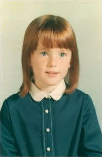 Actress Julianne Moore as a child.