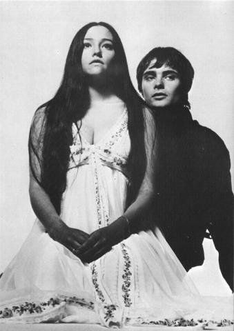 Olivia Hussey with Leonard Whitting