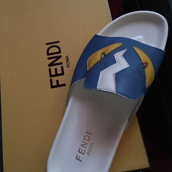 8e4c3d141 Men fendi slides Men fendi slides authentic FENDI Shoes Sandals | My ...