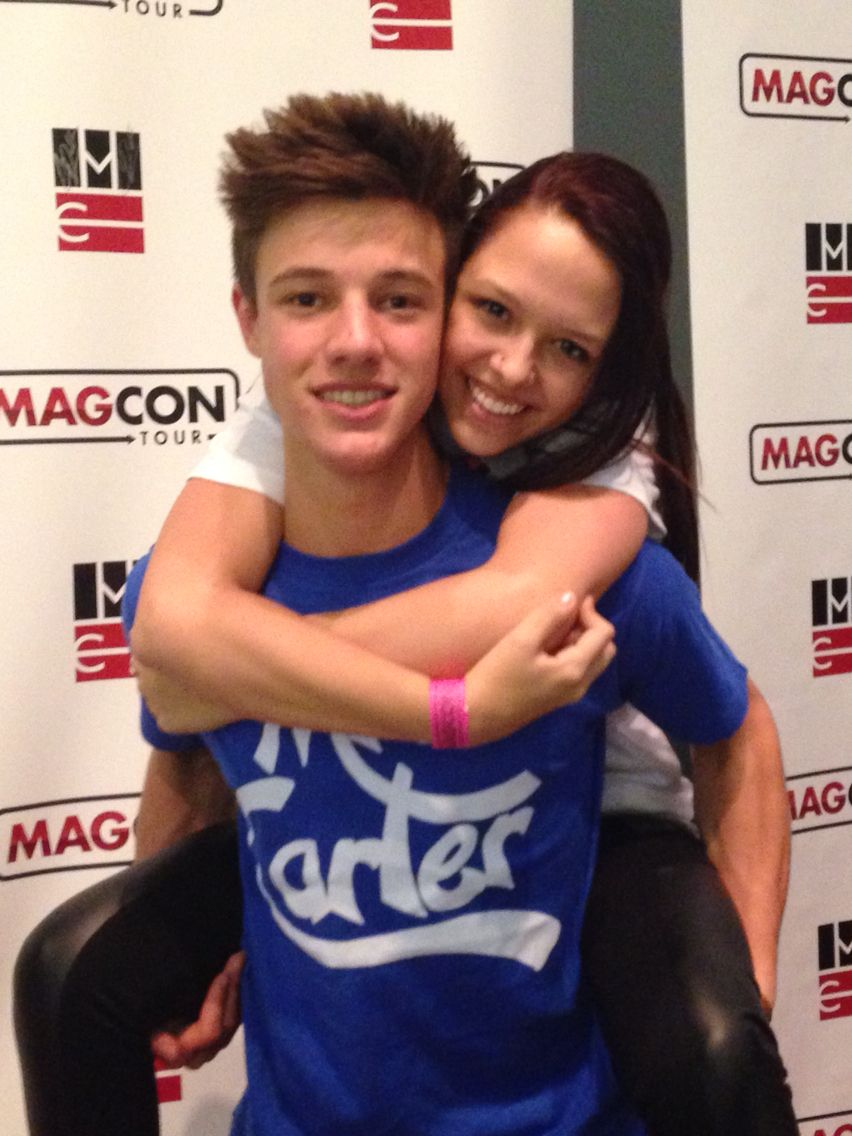 Cameron Dallas Magcon 2014 Meet And Greet Poses Pinterest