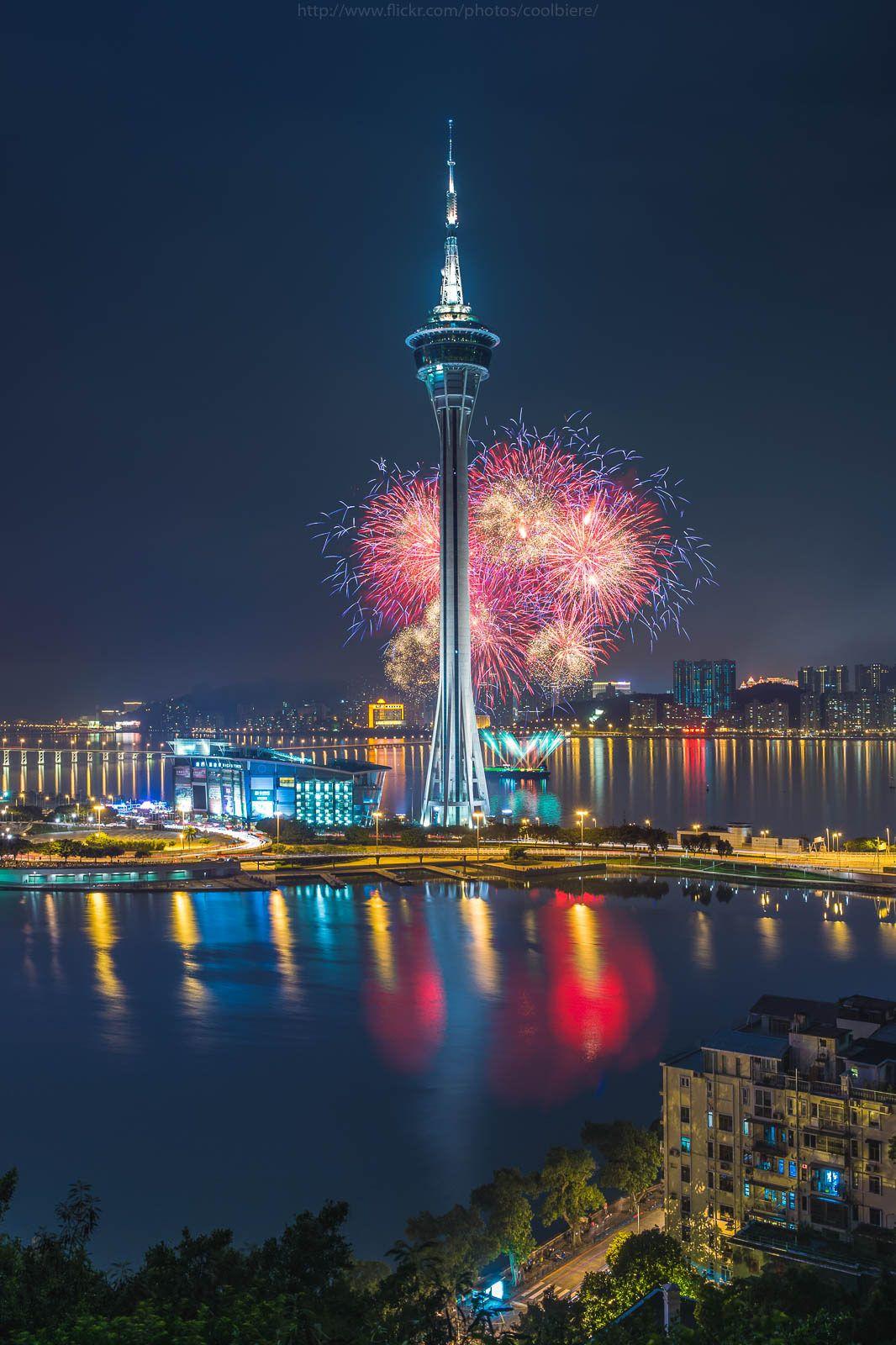 Macau fireworks 2015