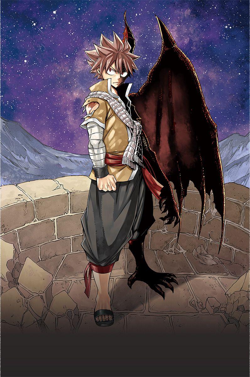 Natsu Half Dragon Form Fairy Tail Movie Fairy Tail Dragon Slayer Fairy Tail Anime