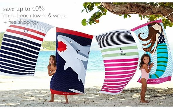Image result for pottery barn kids beach towels Beach Towels