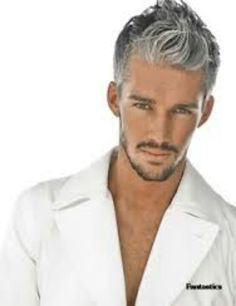 grey hair with black lowlights - Google Search | hair | Pinterest ...