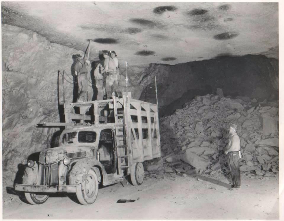 Underground limestone mine in Norton, Ohio | Ohio