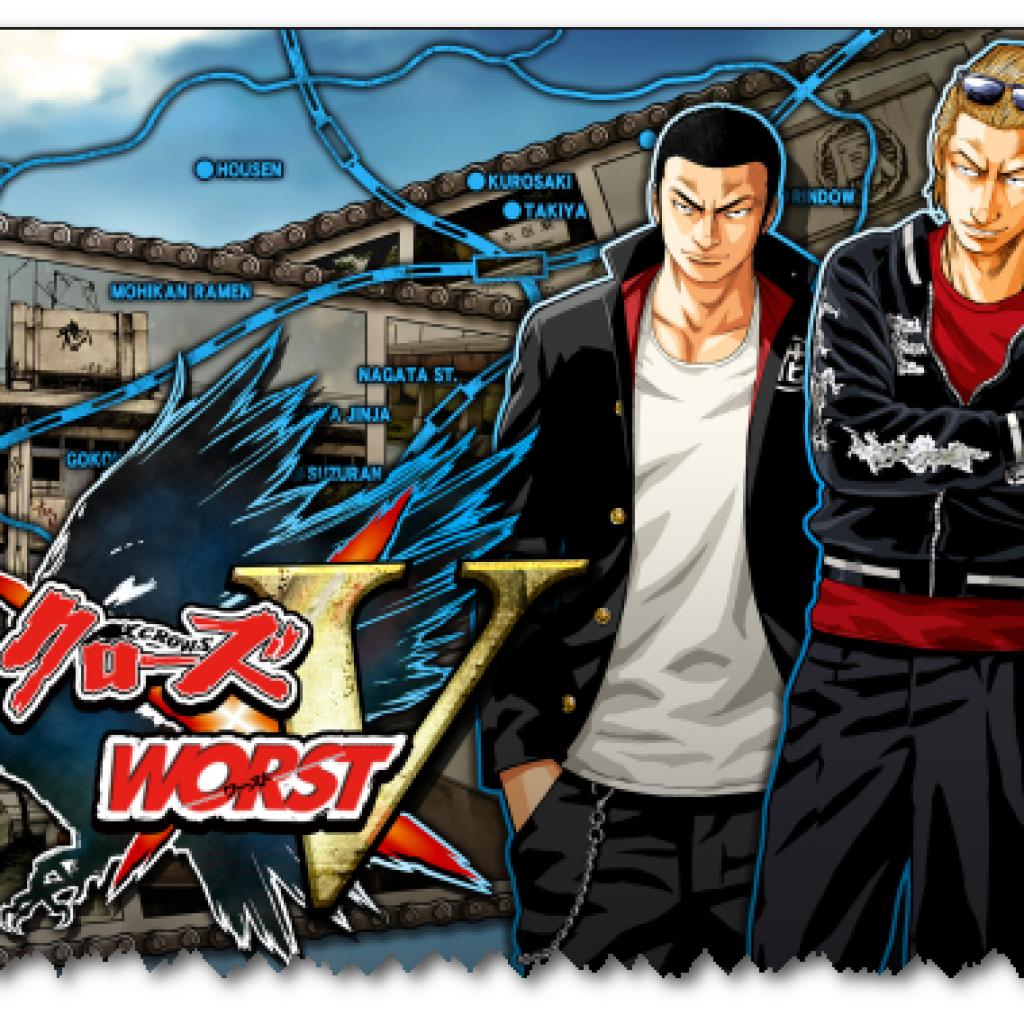 """KONAMI""""Crows X WORST V""""Added"""