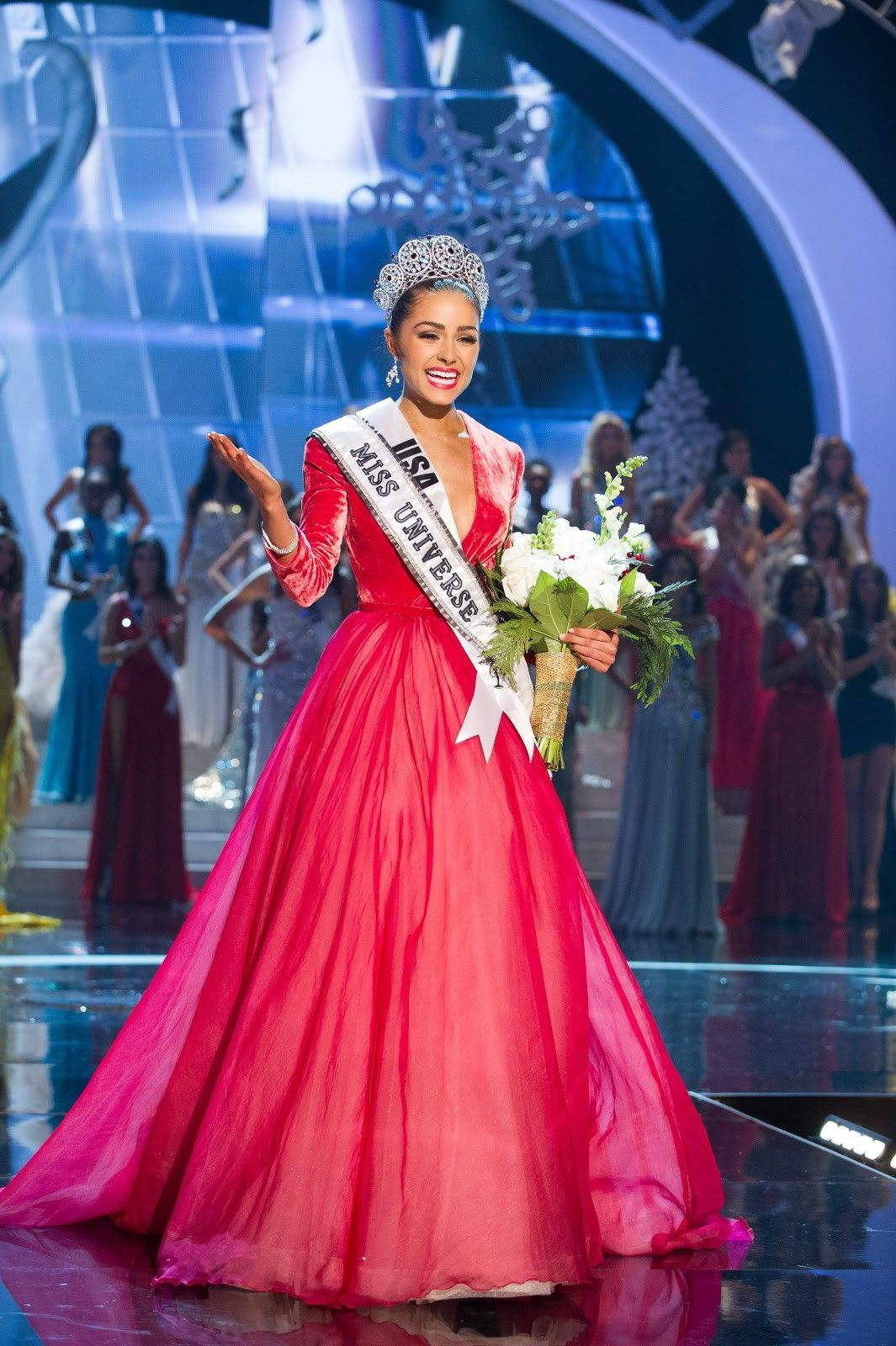 IN PHOTOS: Miss Universe 2012 Pageant