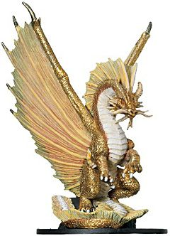 Huge Gold Dragon - Huge - Rare for £15 00 Postage | Fantasy/Fiction