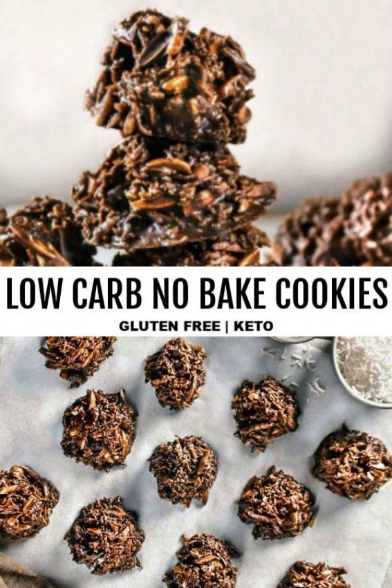 Low carb no bake cookies are perfectly portioned pieces of sunshine on a plate served up with sweet