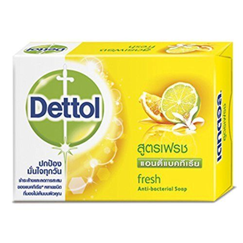 Dettol Anti Bacterial Soap Fresh With Lemon Extracts Hand