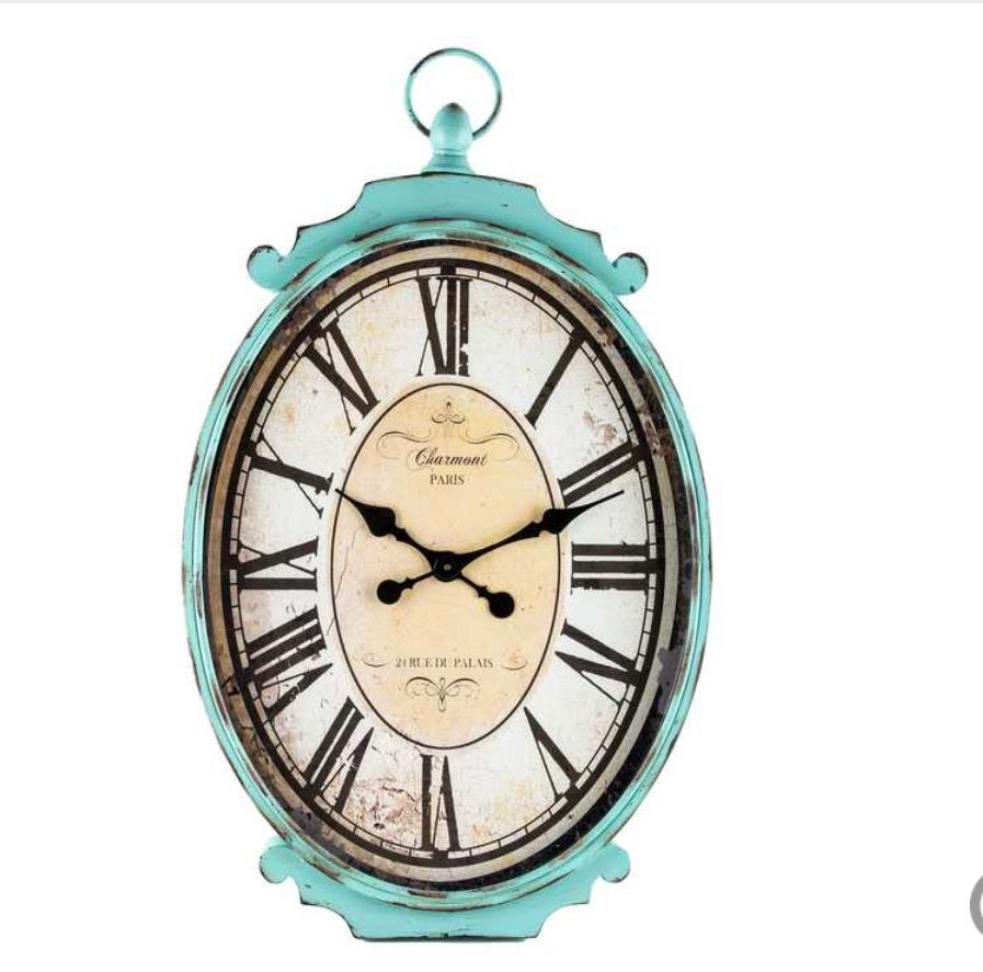 Tiffany Blue Wall Clock From Hobby Lobby Antique Turquoise
