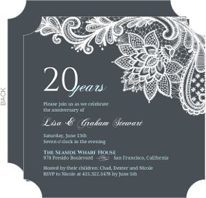 Party Anniversary Party Invitations Enriching Your Ideas To