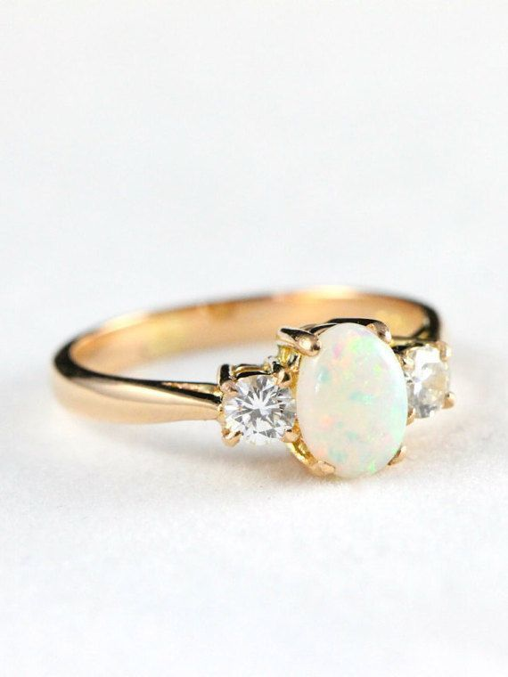engagement rings vintage handmade
