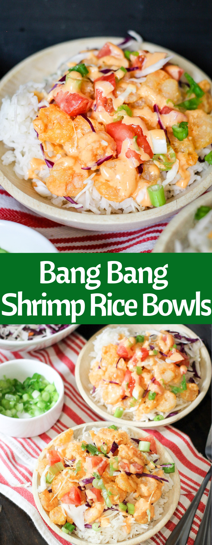 Bang Bang Shrimp Rice Bowls (copycat recipe)