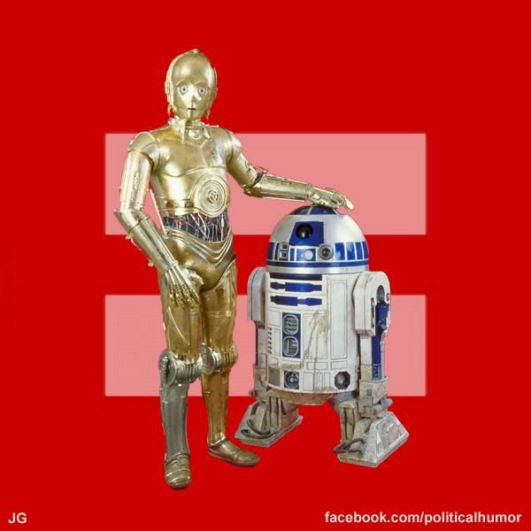 Is c3po gay
