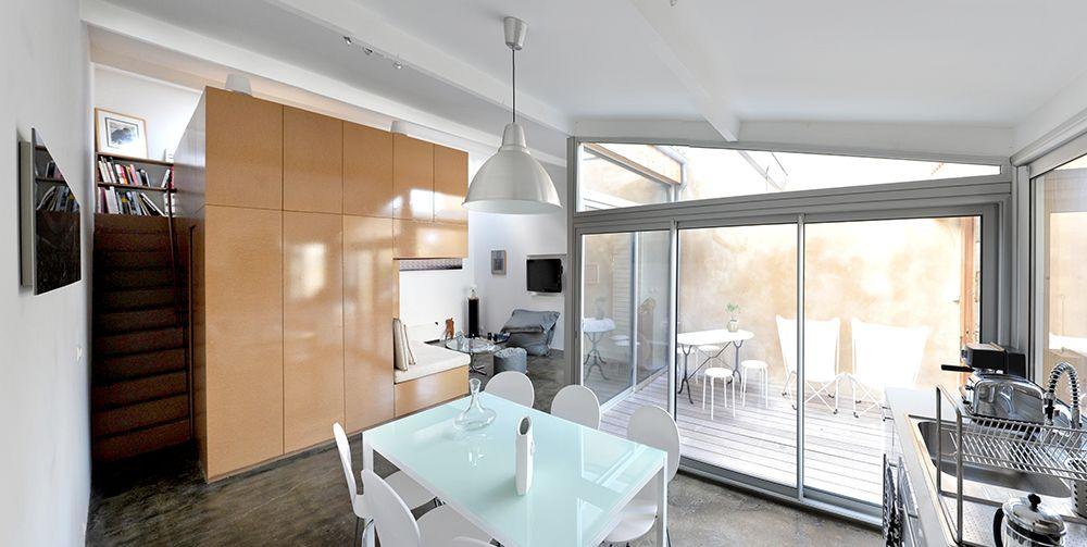 Hoe creativiteit deze garagebox omtoverde tot grandioos duplex appartement