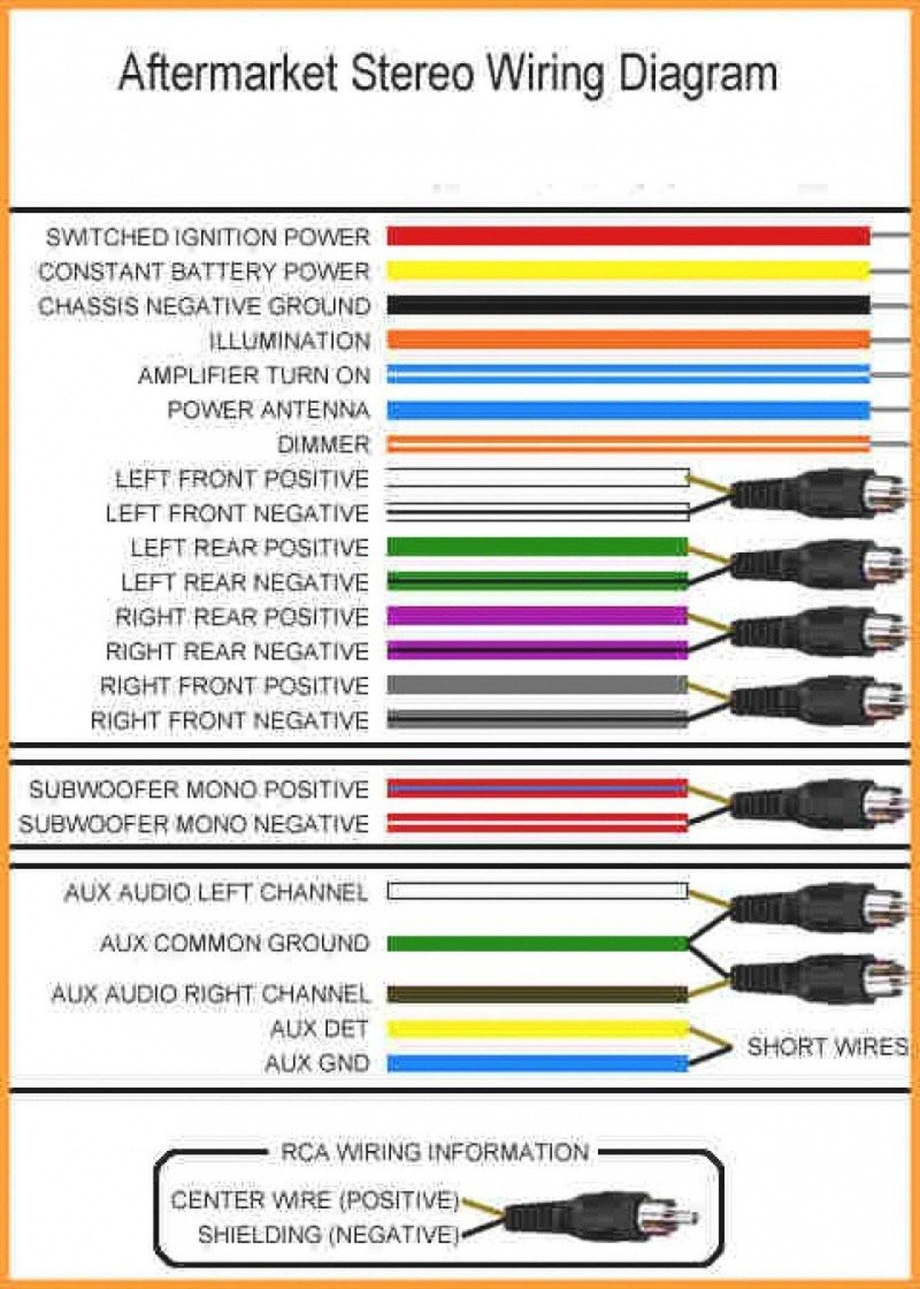 50 beautiful sony radio wiring diagram  sony car stereo