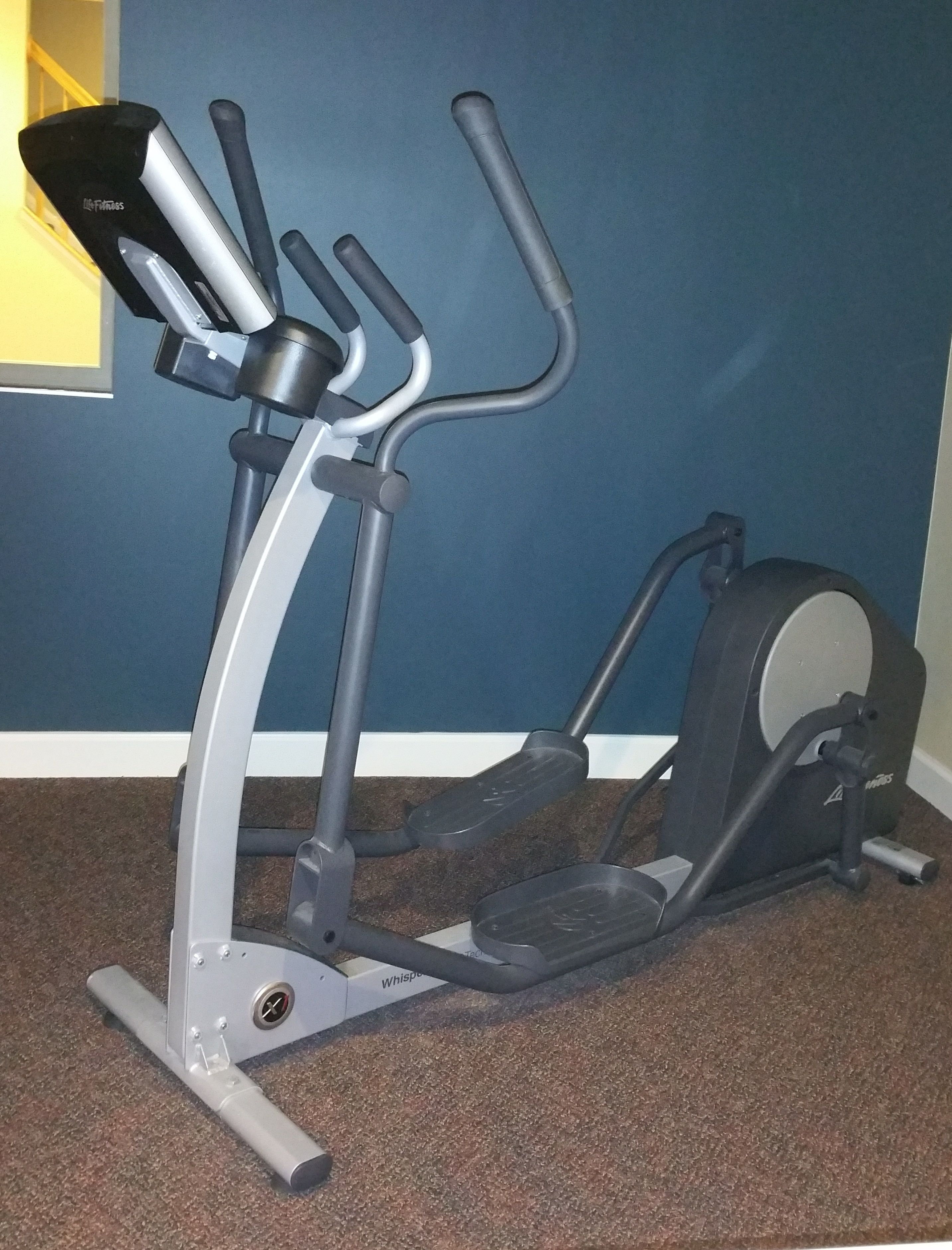 New Elliptical Assembled At Home At Home Gym Elliptical No Equipment Workout