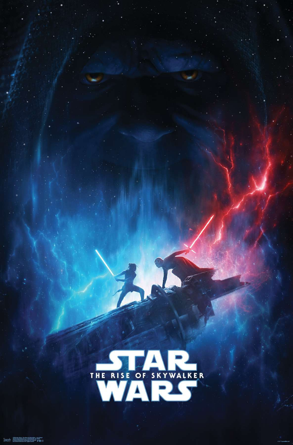 Star Wars The Rise Of Skywalker Officially Licensed One Sheet Star Wars Watch Star Wars Episodes Star Wars Poster