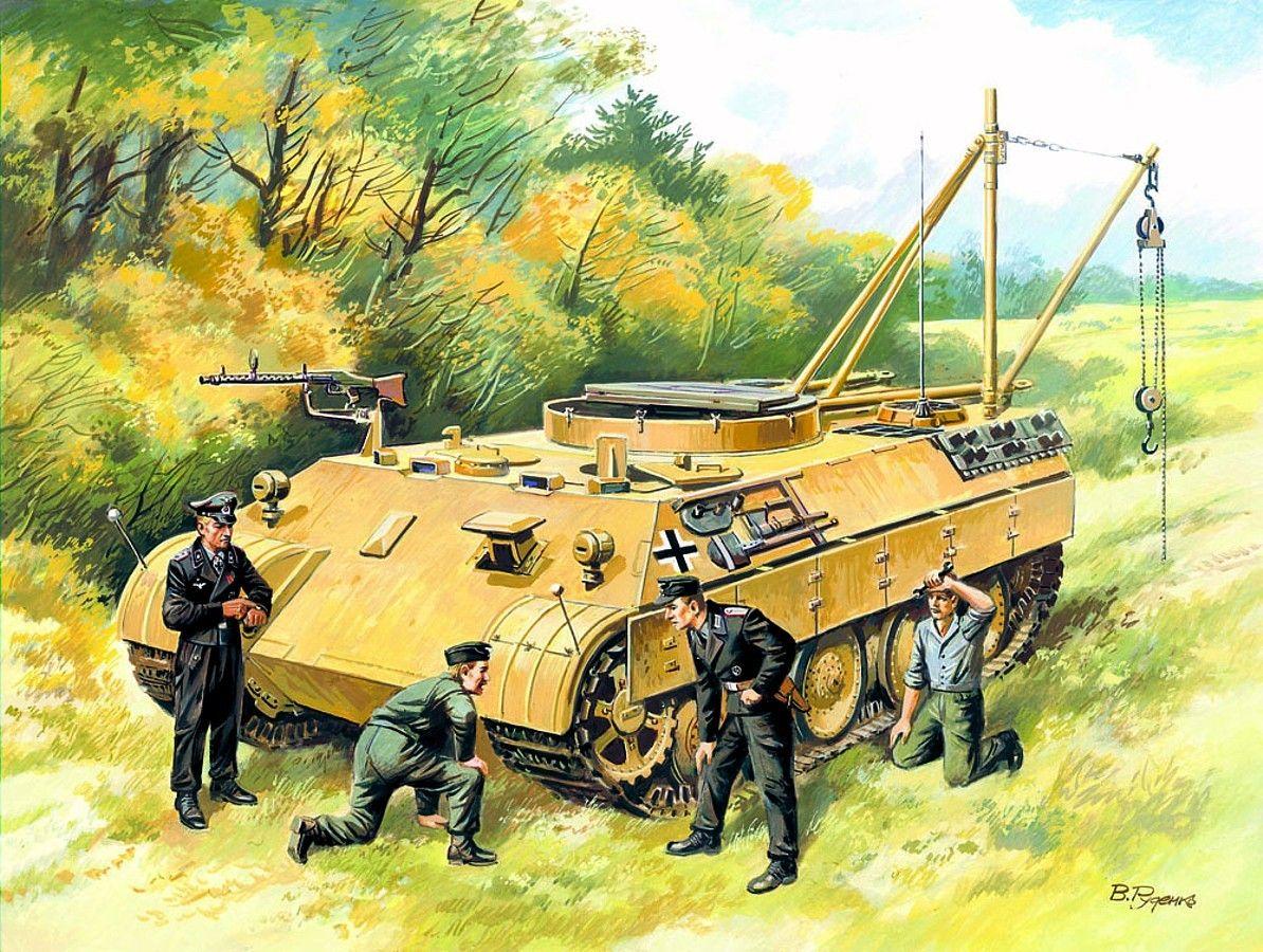 1944 Ostfront BergePanther - Valery Rudenko - ICM models