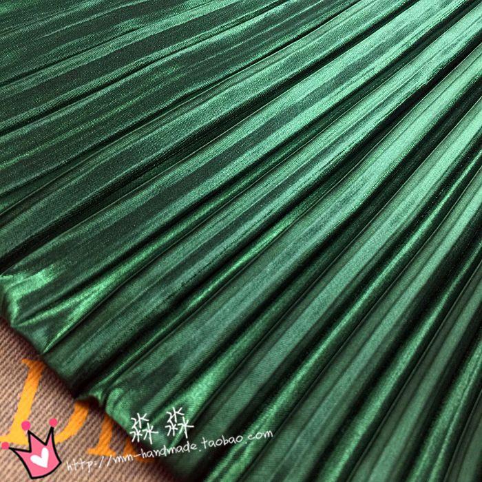 new products 1e67e 19eda Elettro ottica abbigliamento solido tessuto plissettato ...