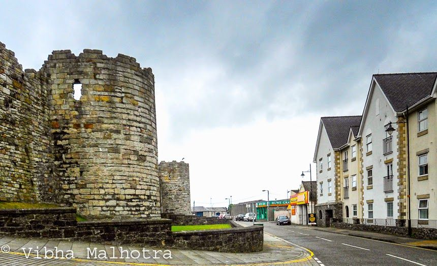 A walk around the Caernarfon and Conwy Castles || A Trip to the North of Wales