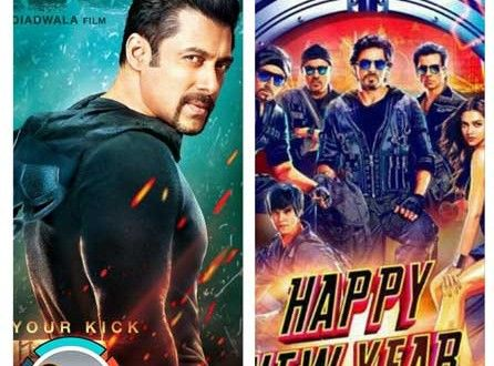 2nd Week Total Official Collection : Kick vs Happy New Year | Salman Kingdom