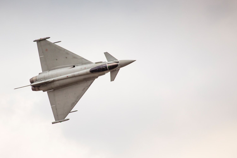 Eurofighter Typhoon, by Mariusz Prusaczyk | Unsplash