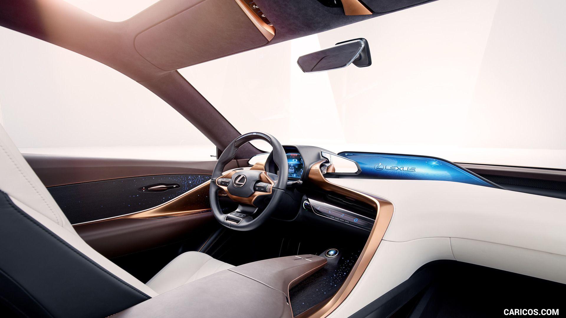 2018 Lexus Lf 1 Limitless Concept Wallpaper Luxury Suv Luxury Crossovers Lexus