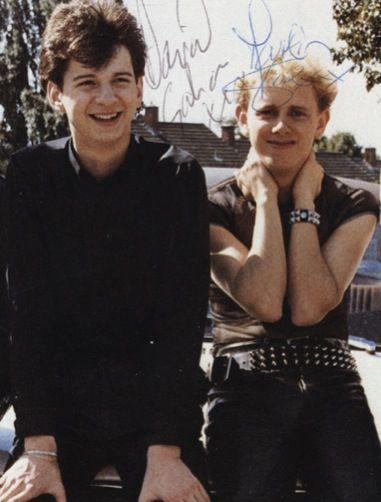 Dave Gahan & Martin Gore of Depeche Mode | depeche mode