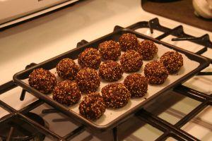 Cherry Chocolate Energy Balls