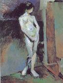 HENRI MATISSE Staand naakt einde 1906-1907