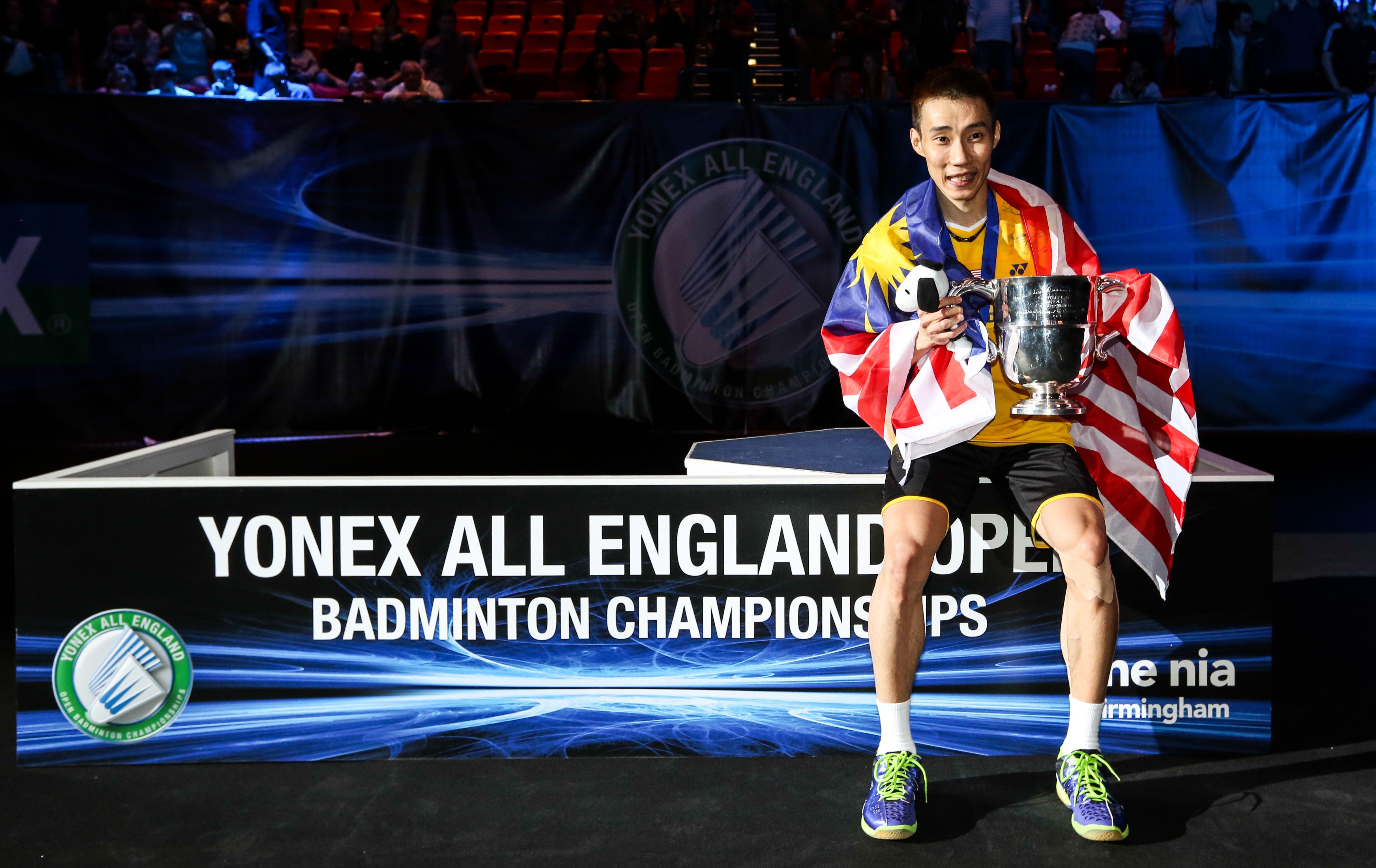 Three Time Yonex All England Open Champion Yonex Badminton Champion
