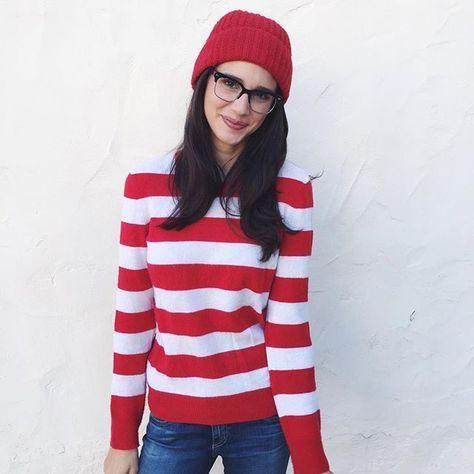 31 Last-Minute Halloween Costumes For Women Waldo costume - last min halloween costume ideas
