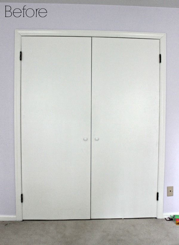 Almost All Of The Doors In Our House Are Standard Six Paneled White Doors.  My